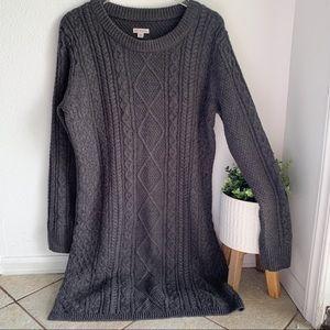 Merona long sleeve sweater dress